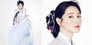 Ảnh girl xinh Hàn mặc hanbok