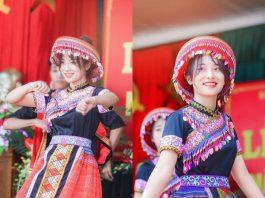 Nữ sinh Thái Nguyên múa trong ngày khai giảng gây bão vì quá xinh